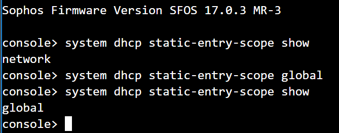 Sophos XG: No IP is delivered via DHCP on branch office when
