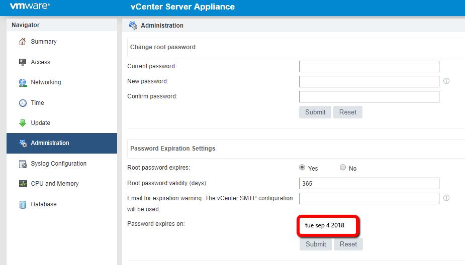 vCenter Server Appliance 6 7 upgrade: A problem occurred